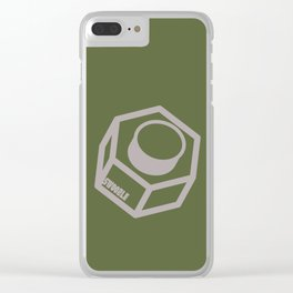 Swoozle Solo Nut Clear iPhone Case