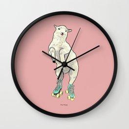 Stay happy! Wall Clock
