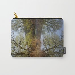 Botanical Reflection Landscape Carry-All Pouch