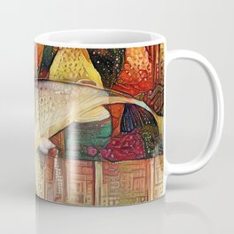 Bohemian Fish Coffee Mug