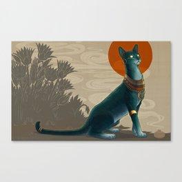 Egyptian Mau Canvas Print