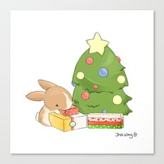 Gift Giving Canvas Print