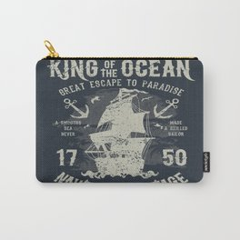 King of the Ocean Carry-All Pouch