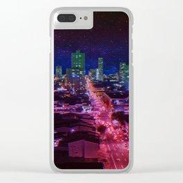 Punk City Clear iPhone Case