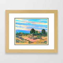 Western Influences Vista Framed Art Print