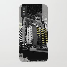 CMYK Triptych - Yellow iPhone Case