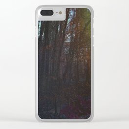 Purple Clear iPhone Case