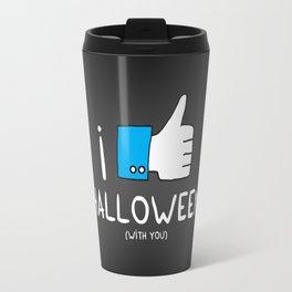 I love Halloween (with you) Travel Mug