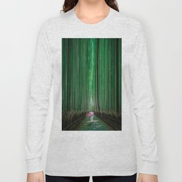Arashiyama, Kyoto Japan Long Sleeve T-shirt