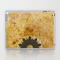 Ebony Sun Mandala Laptop & iPad Skin