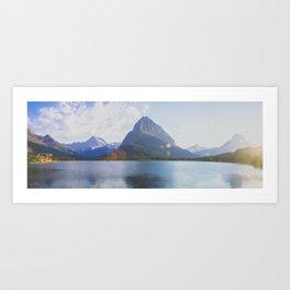 Swiftcurrent Lake Art Print