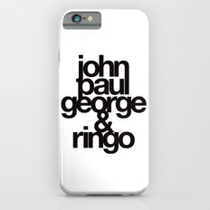 The Fab Four iPhone 6 Slim Case