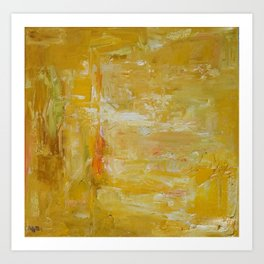 million golden thoughts Art Print