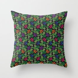 Garden Vines Throw Pillow