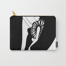 Fashion art deco stylish illustration Carry-All Pouch