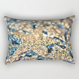 Starry Wishes and Bokeh Dreams... Rectangular Pillow
