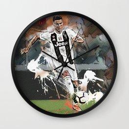Cristiano Abstract Art Wall Clock