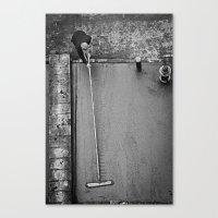 concrete Canvas Prints featuring Concrete by Bill Wadman