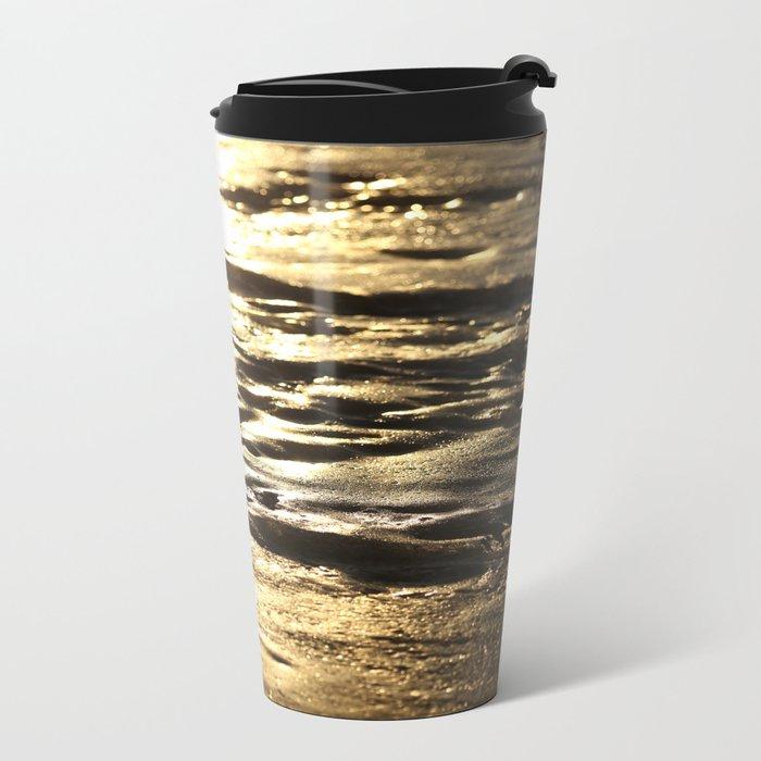 Nature In Abstract Mood  Metal Travel Mug