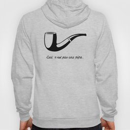 This Is Not A Pipe, Ceci n'est pas une pipe, Magritte Inspired T Shirt, Sketch, online T-shirt S Hoody