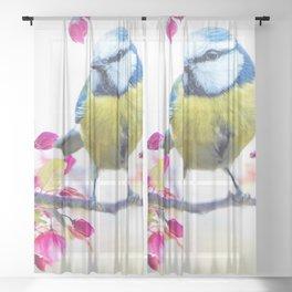 Song Bird Sheer Curtain