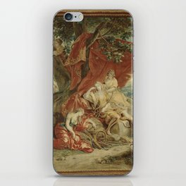 Resting Diana, from the Triumph of the Gods iPhone Skin