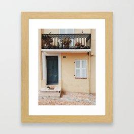 Cannes Framed Art Print