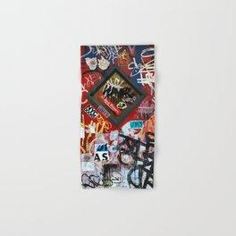 New York City Door Graffiti Hand & Bath Towel