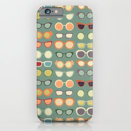 Retro Glasses  iPhone Case