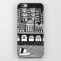 england iPhone & iPod Skins featuring Brighton, England by Caroline Rees
