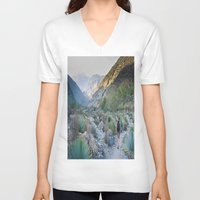 onward V-neck T-shirts featuring Onward by Kim Ramage