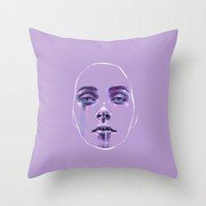 Masks We Wear Throw Pillow