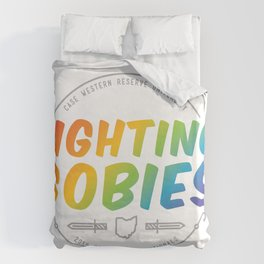 Fighting Gobies Nationals - Rainbow Duvet Cover