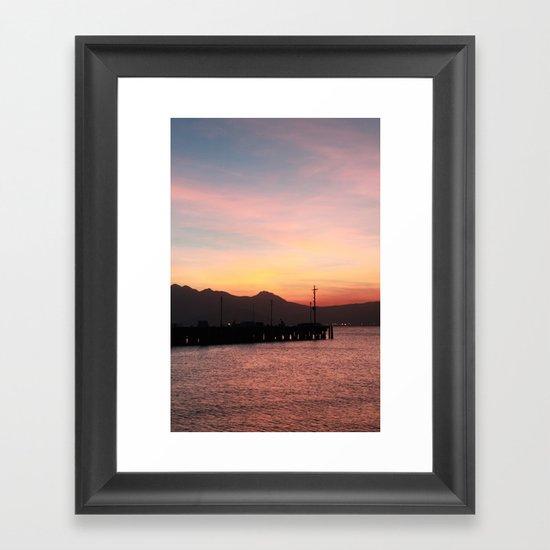 Subic Framed Art Print