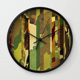 CAMO MIX Wall Clock