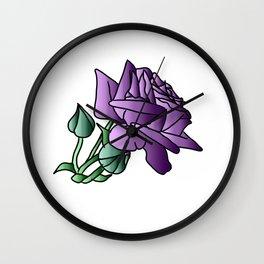 Simple roze Wall Clock