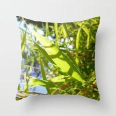 Bamboo Love Throw Pillow