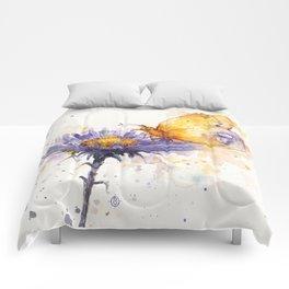 Flowers & Flutters Comforters