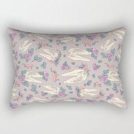 Skull Garden Rectangular Pillow