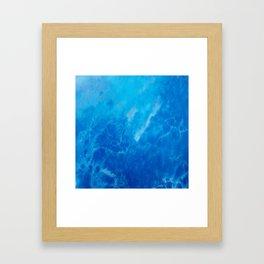 Ocean Reflections Framed Art Print