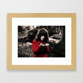 Red Riding Hood 2 Framed Art Print