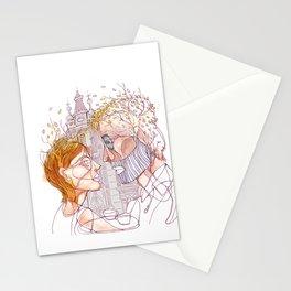 """ I realized early autumn "" Stationery Cards"