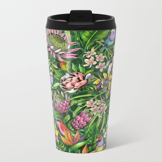 Stand out! (juicy lime) Metal Travel Mug