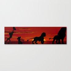 Simba's Pride Canvas Print