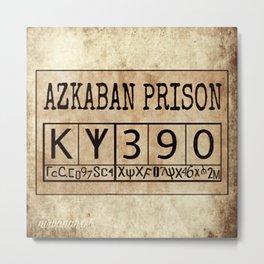 Azkaban Prison Metal Print