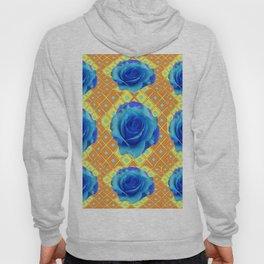 Blue Roses Hoody