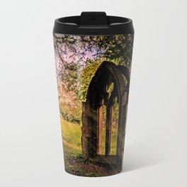 Manor house landscape. Travel Mug