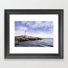 Peggy's Cove, Nova Scotia, Canada Framed Art Print