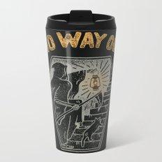 No Way Out Metal Travel Mug