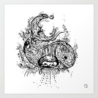 Noah & the whale Art Print